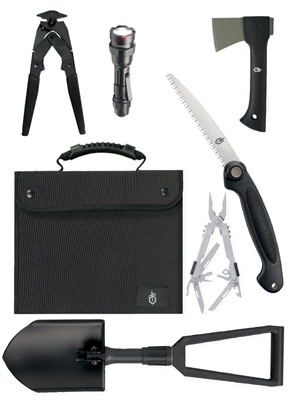 Gerber - Offroad Survival Kit/SUV Kit with Black Nylon Case