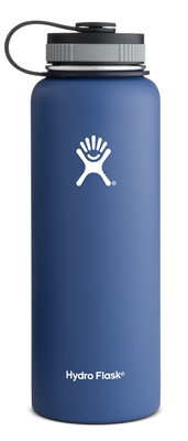 Hydro Flask 40oz Wide Mouth Bottle - Blue