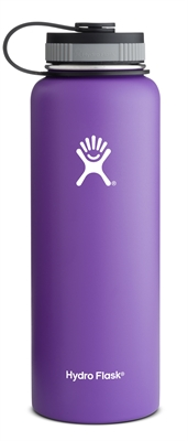 Hydro Flask 40oz Wide Mouth Bottle - Purple