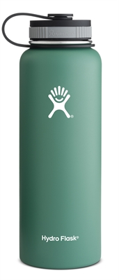 Hydro Flask 40oz Wide Mouth Bottle - Green
