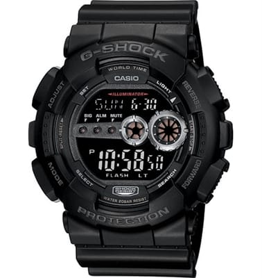 Show details for Casio - G-Shock Extra Large Digital Military Watch - GD100