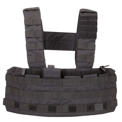 Show details for TacTec Chest Rig - Black - One Size