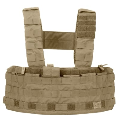 Show details for TacTec Chest Rig - Sandstone - One Size